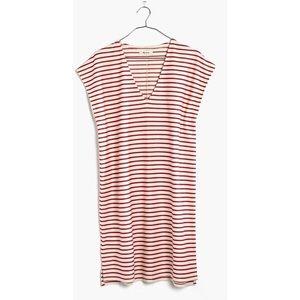 Madewell V Neck Striped Dress, Size XXS